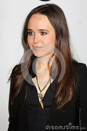 Ellen Page Editorial Stock Image