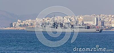 Elli class frigate F-460  Editorial Image