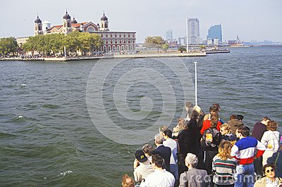 Ellis Island National Park Editorial Stock Photo