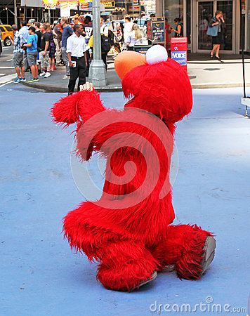 Elmo In NYC Editorial Photography