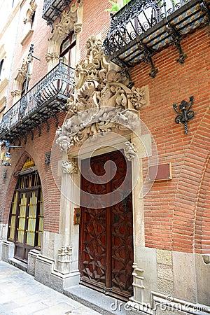 Free Els Quatre Gats, Casa Martí, Barcelona, Spain Stock Images - 34413974