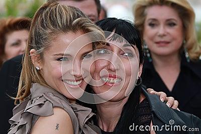 Elsa Pataky and Rossy de Palma Editorial Photo