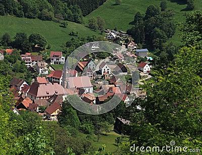 Elsässisches Dorf