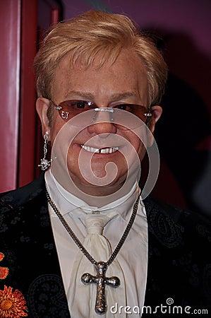 Elton John Editorial Stock Image