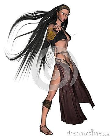 Elven Sorceress - 3