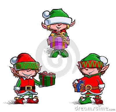 Free Elves 2 Stock Photos - 74434183