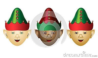 Elves of different ethnicities