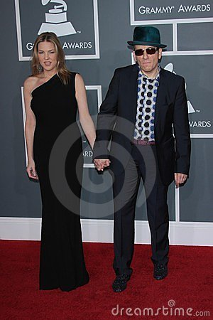 Elvis Costello, Diana Krall Editorial Stock Image