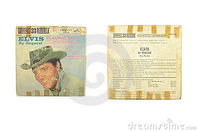 Elvis by request flaming star Editorial Stock Photo