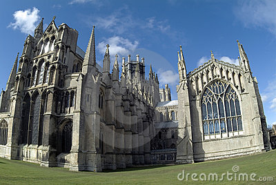 Ely Cathedral from east