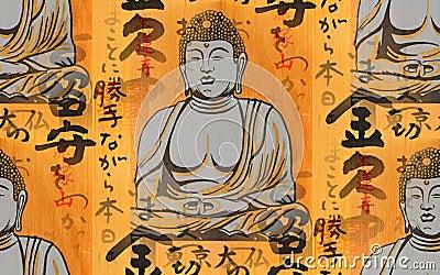 Ema and Buddha