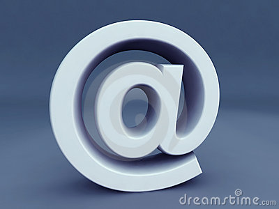 Email Alias Symbol