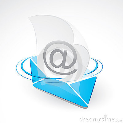 Free Email And Envelope Royalty Free Stock Photos - 12414608