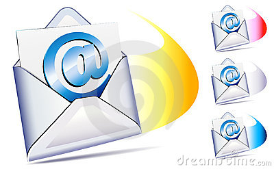 @ email arriving concept
