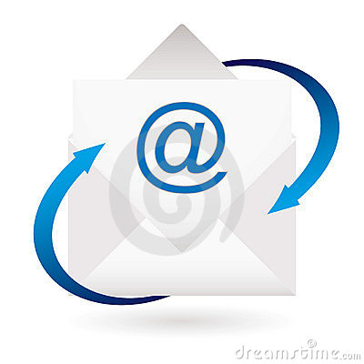 Email arrow envelope