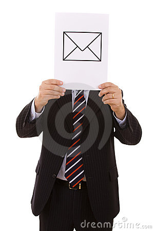EMail businessman