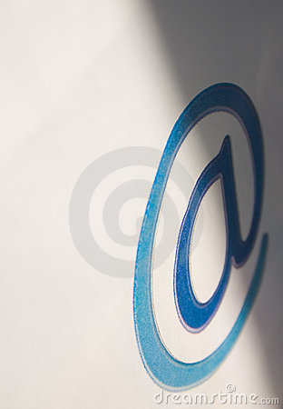 Email communication - @