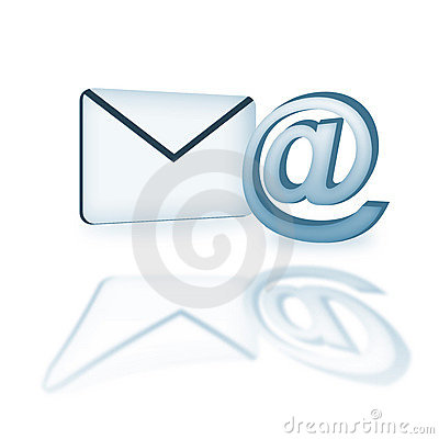 Email icon in 3d