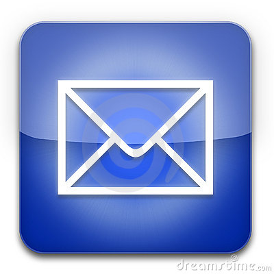 EMail icon blue