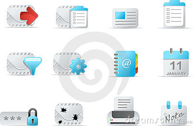 Email Icon - emailo set 4