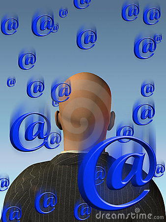 Free Email Innundation Stock Images - 3519434