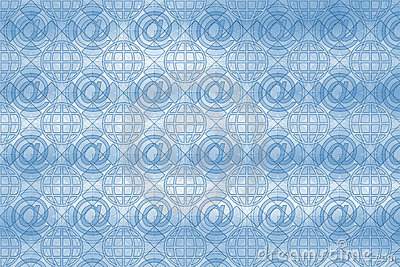 Email pattern background