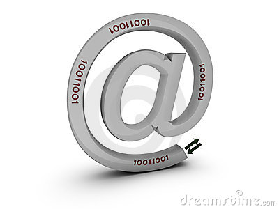 Email sign with bytes