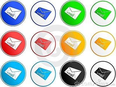 Email sign icons