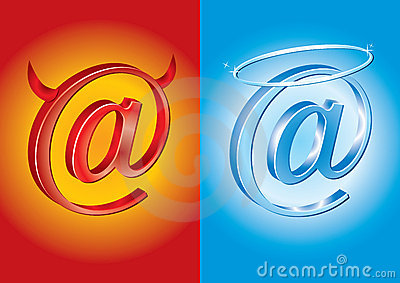 Email symbol - Bad Vs Good