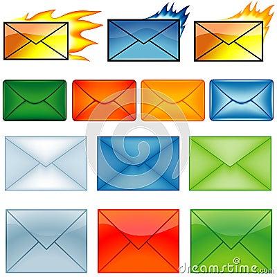 Email Symbols