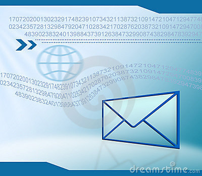 Email Technology Background Stock Photography - Image: 13541502