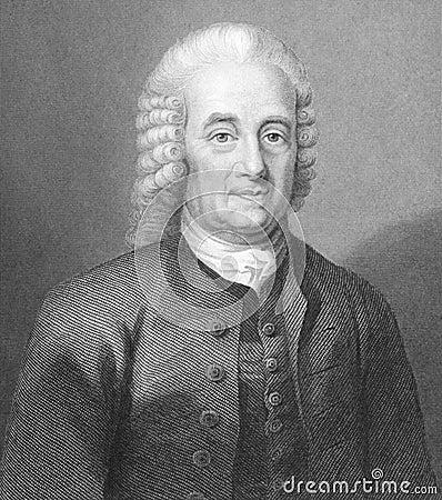 Emanuel Swedenborg Editorial Photography