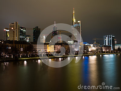 Embankment in Frankfurt am Main