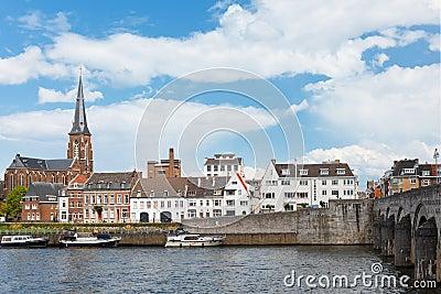 Embankment in Maastricht