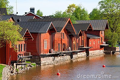 Embankment in Porvoo
