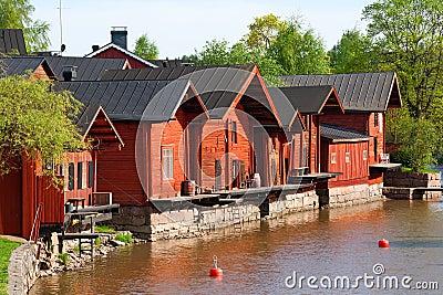 Embankment in Porvoo