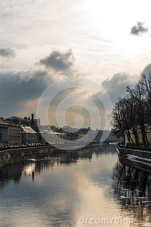 Embankment of the Saint Petersburg