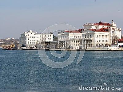 Embankment of Sevastopol city.