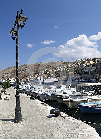 Embankment on the Symi