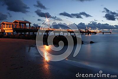 Embarcadero del golfo del pie DeSoto