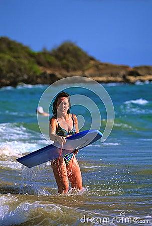 Embarque de la boogie en Maui