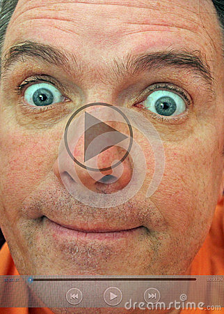 Free Embarrassing Video Clip Selfie Royalty Free Stock Photo - 43306425