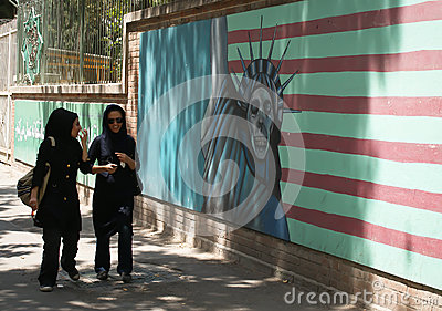 Embassy of the United States, Tehran Editorial Photography