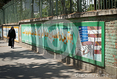 Embassy of the United States, Tehran Editorial Image
