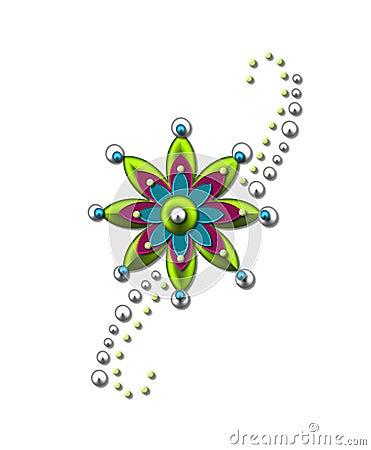 Embellishment Flower Star