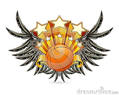 Emblème de basket-ball