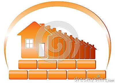 Emblem of building