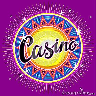 Emblem of casino