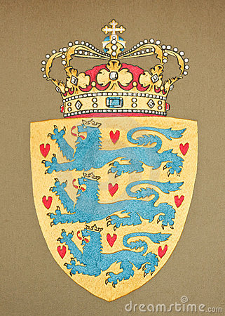 Emblem of Danemark