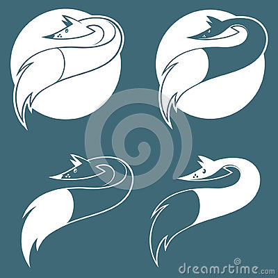 Emblem with fox